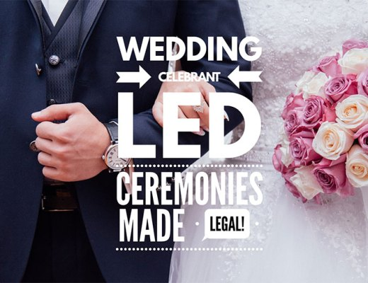 Wedding Celebrant Led Ceremonies Made Legal with Steven Game-blackmoor