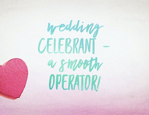 Wedding Celebrant - A Smooth Operator with Susan Denton, Wedding Celebrant
