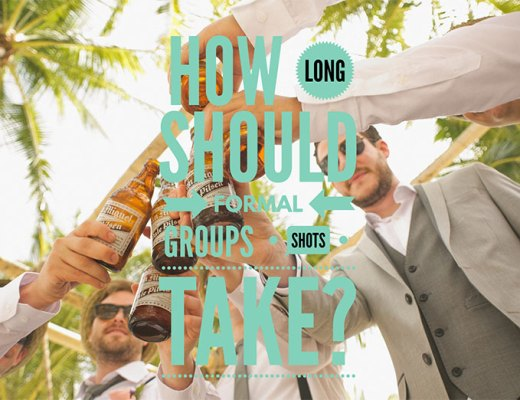 How Long Should Formal Groups Shots Take with Hannah Mia Photography
