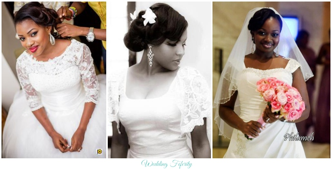 Wedding Dress Style Guide: Necklines