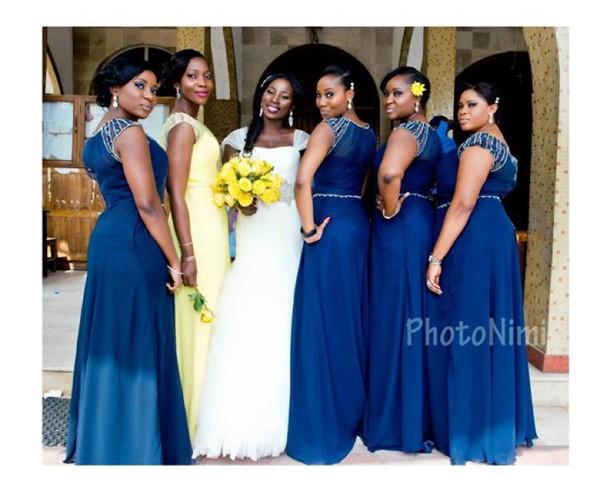 Nigerian Bridesmaid Dresses