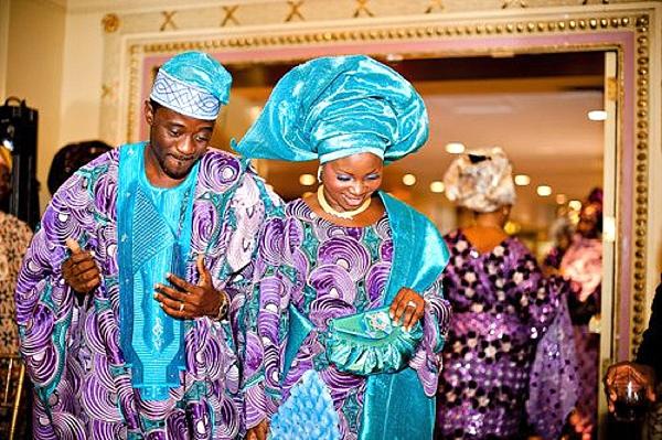 Nigerian Traditional Wedding Colour Scheme BLUE  Wedding Feferity