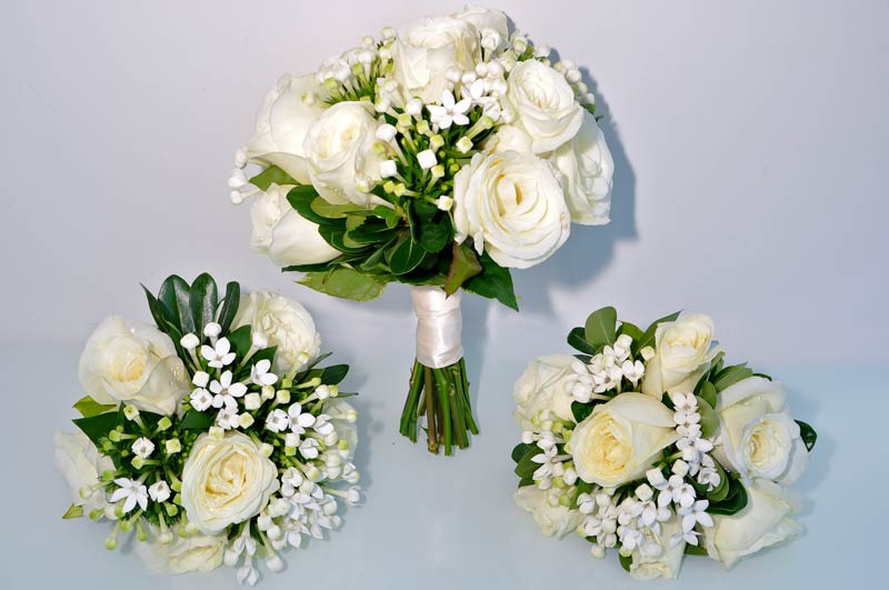 Perfect Evesham Wedding Flowers From Top Florist, Rose And