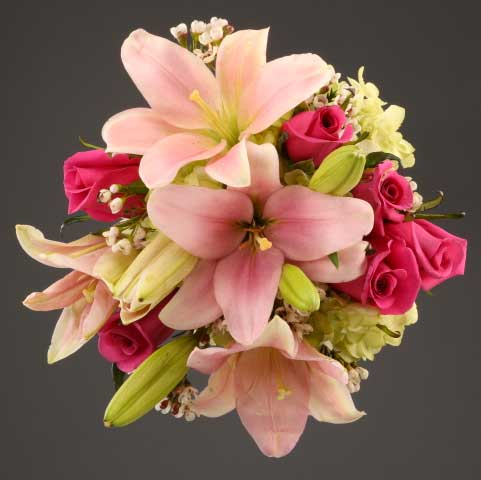 Picture Of  Mixed Flowers Bouquet