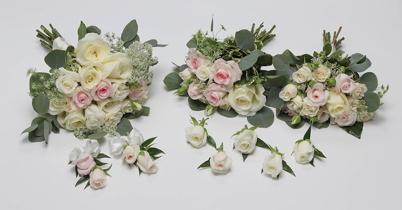 SHADES OF WHITE AND BLUSH ROSE PACKAGE PICTURE