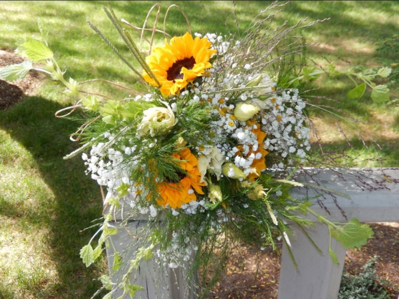 sunflowers Bridal Bouquet