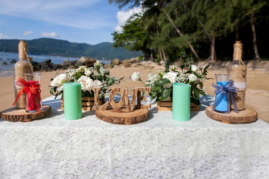 Chris & Caitlin Beach Wedding, Hua Beach 20th June 2019 5