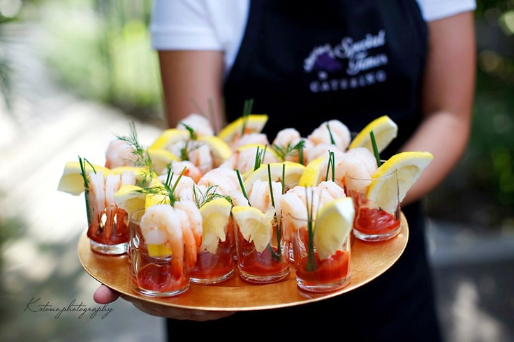 Bring On The Minis! The Mini Wedding Appetizers