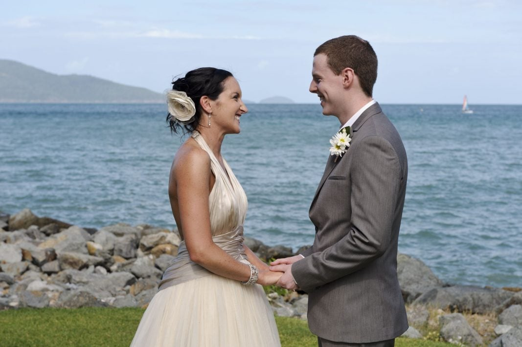 Amy's Wedding Gown Preservation On Hamilton Island
