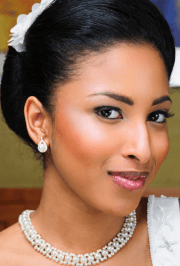 elegant african american bridal