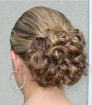 simple bridal updo wedding hairstyle