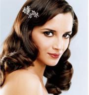 wavy bride hairstyle
