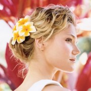 beach casual wedding hairstyle