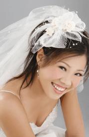 2015 long asian bride hairdo