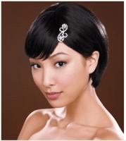 asian short wedding hairstyle