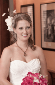 50s style wedding hairstyle