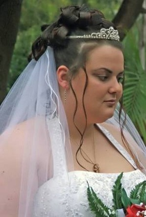 bridal updo with tiara and veiljpg 1 comment