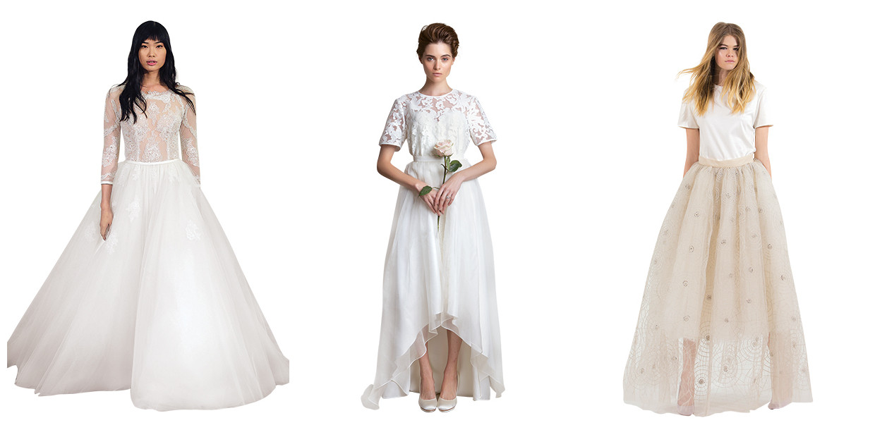 Two-Piece Wedding Dresses For The Modern Bride