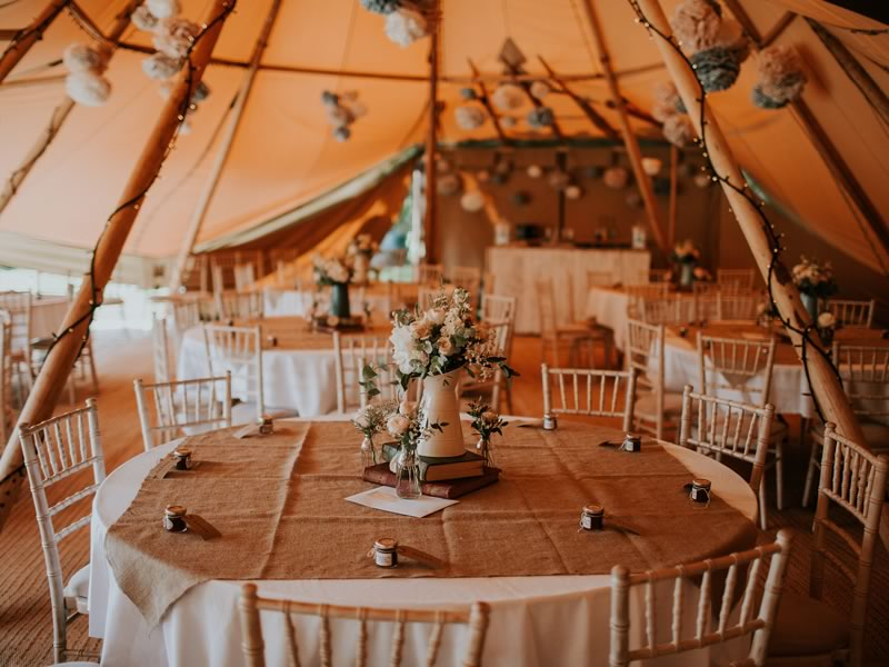 Source The Style: Bohemian Tipi Reception