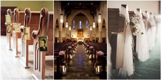 21 Stunning Church Wedding Aisle Decoration Ideas To Steal