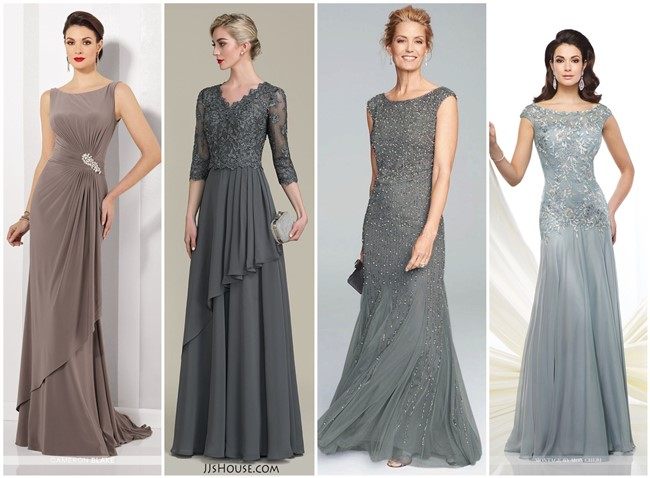 18 Long Length Mother Of The Bride And Groom Dresses