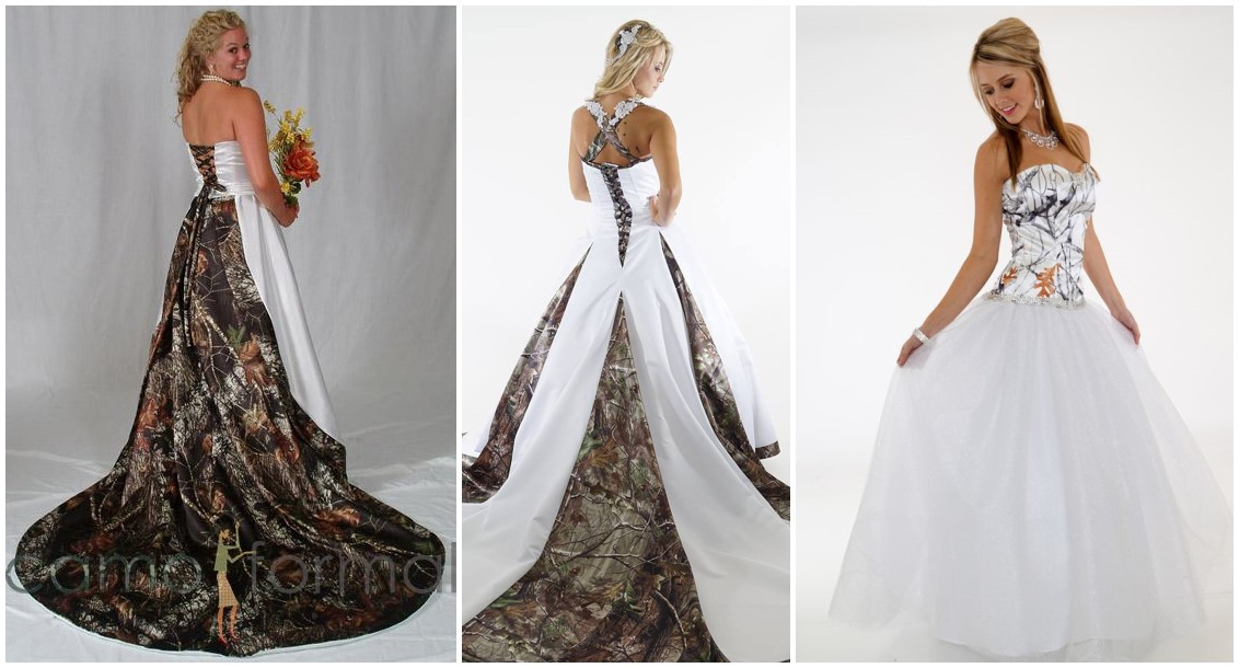 20 Camo Wedding Dresses Ideas To Make Your Big Day One Of