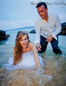 Trash Dress Wedding In Maui Cheap And Affordable