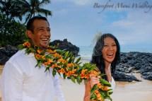 Barefoot Maui Wedding Fun Affordable