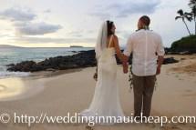 Affordable Barefoot Maui Wedding Beautiful Hawaiian Themed