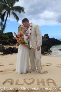 Img 0870 Affordable Barefoot Maui Wedding