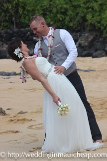 Affordable Barefoot Maui Wedding