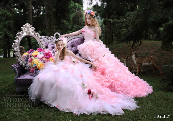 TIGLILY Spring/Summer 2015 Wedding Dresses