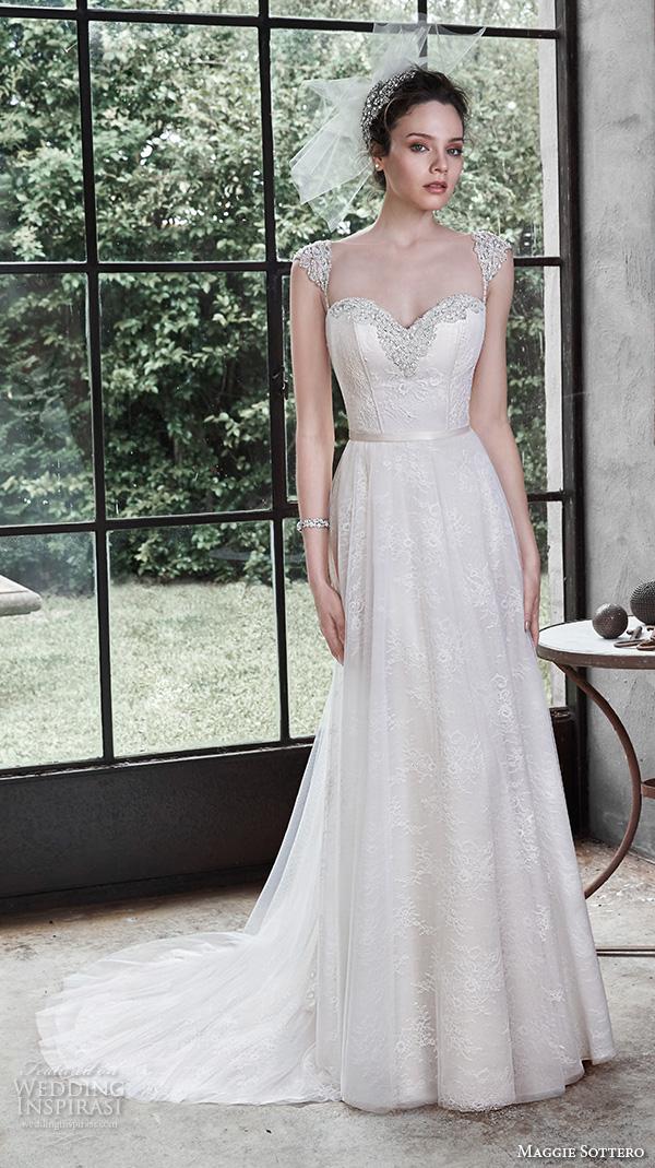 Maggie Sottero Fall 2015 Wedding Dresses  Wedding