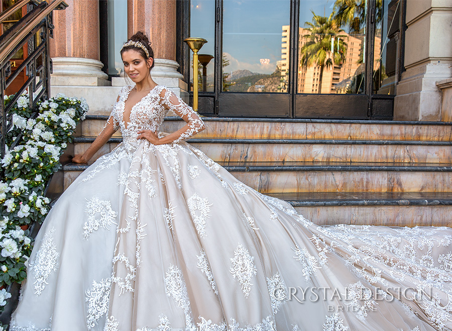 Crystal Design 2017 Wedding Dresses