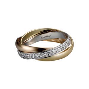 婚戒中的經典-Cartier三環戒   WJ婚禮珠寶網