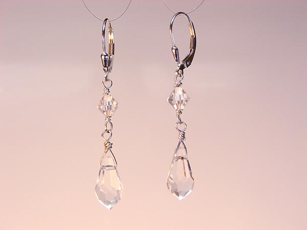 Romantic Wedding Necklace Cristal