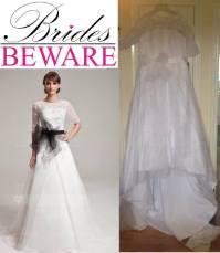 Buying a Wedding Dress Online Fails