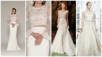 Bridalwear inspiration - 32 two-piece wedding dresses ...