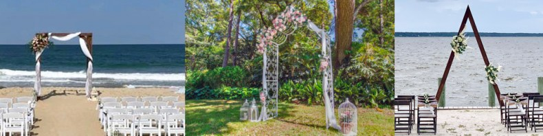 wedding arches and chairs rental arch arbor