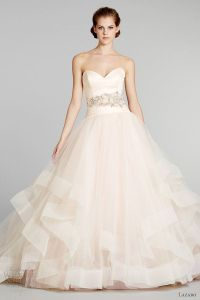 Ball Gown Wedding Dresses : blush pink wedding dress