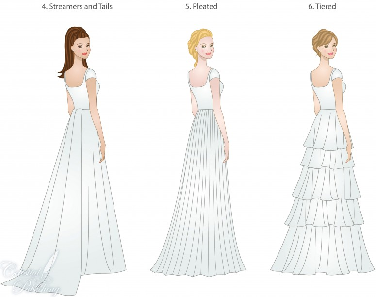 Wedding Dress Skirt Types: Shapes, Overlays, And Textures