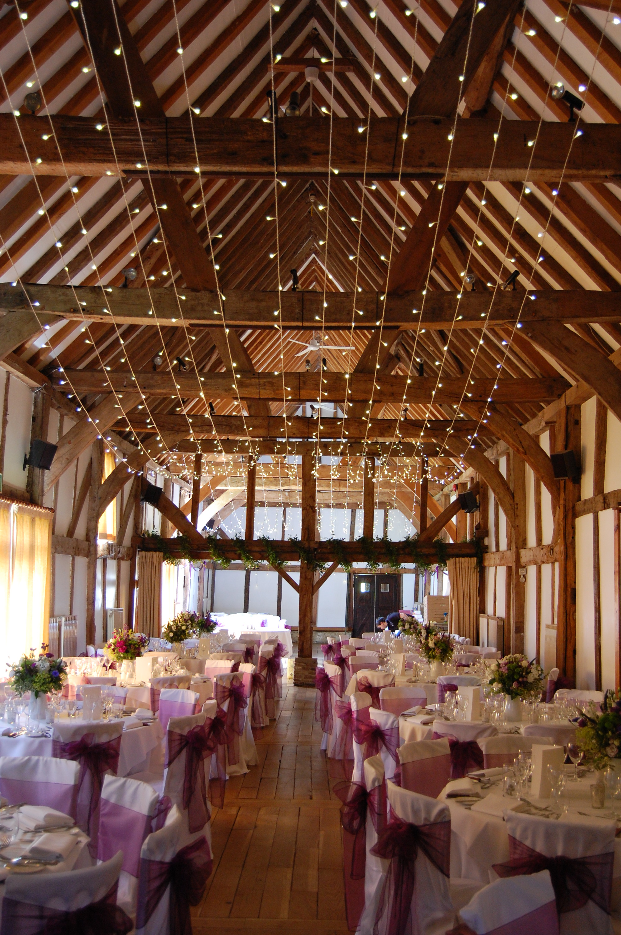 Loseley House  Wedding Lighting Hire