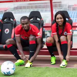 Nigerian Striker Set to Wed His Nigerian Girlfriend After Dumping His White Babe