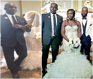 Former Super Eagles Coach, Samson Siasia's Daughter Weds in US