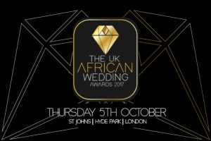 A picture of the UK African wedding award, 2017