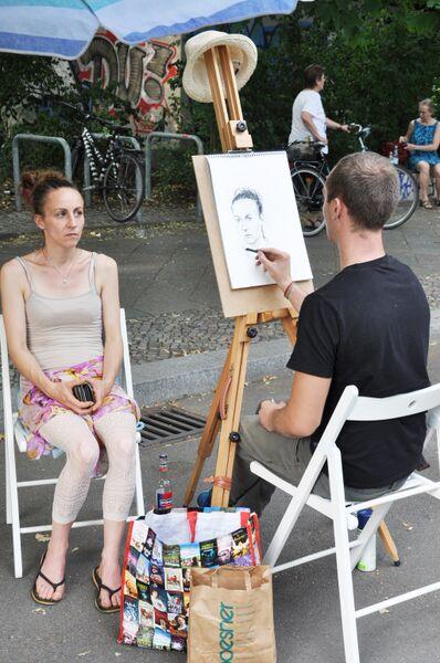 weddigmarkt_portraitzeichner