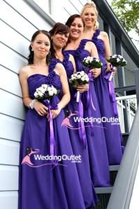 Cadbury Purple Bridesmaid Dresses - WeddingOutlet.com.au