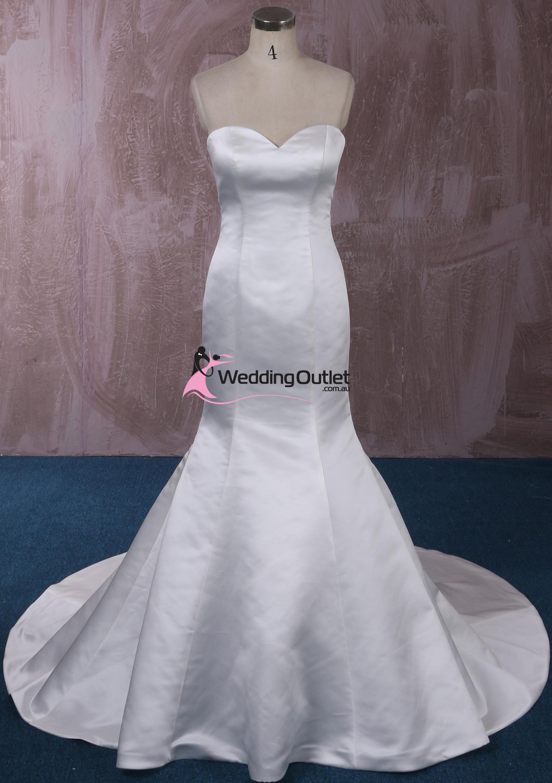 London Simple Mermaid Wedding Gown  WeddingOutletcomau