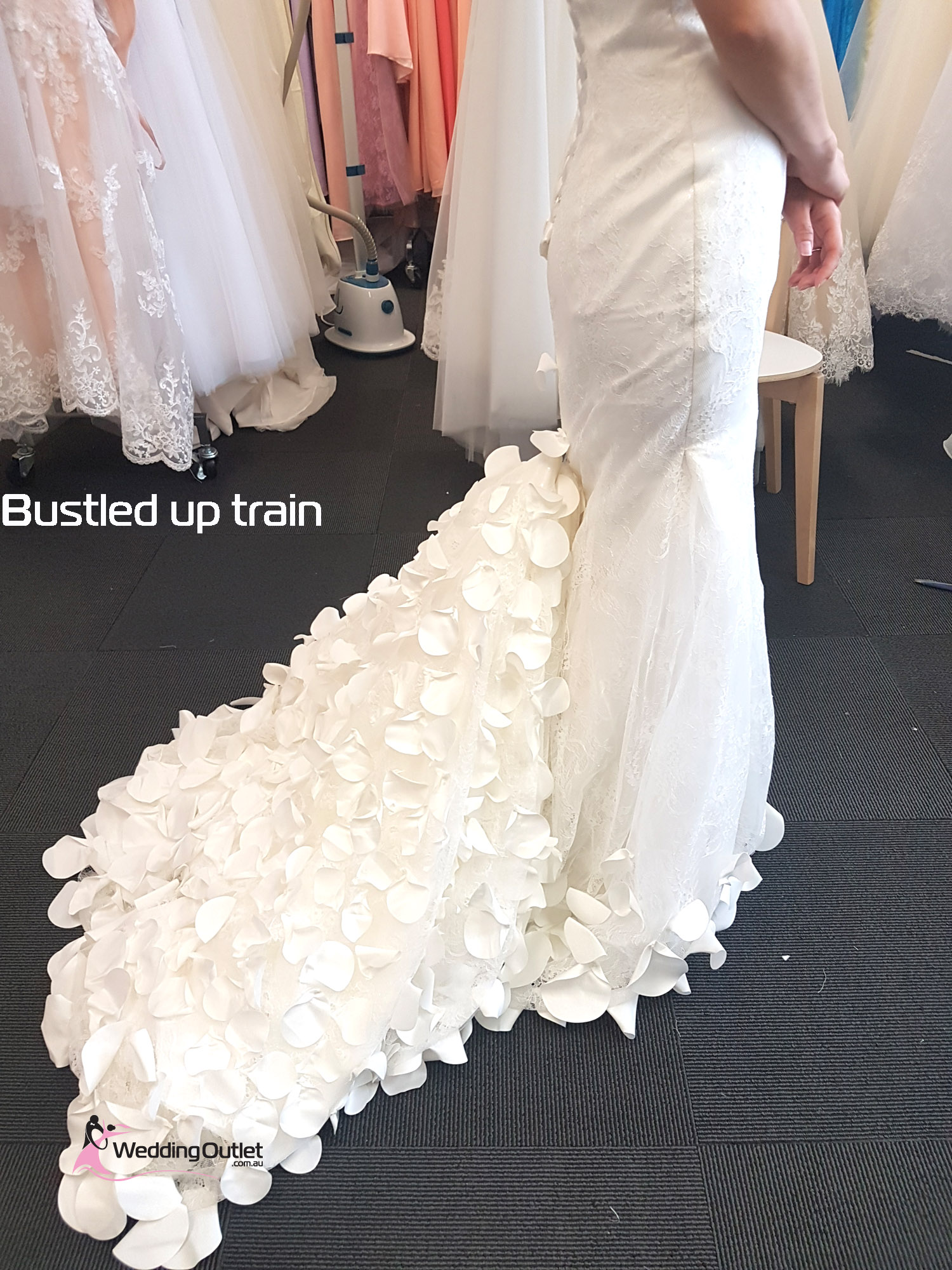 Beach Wedding Dress Size 12