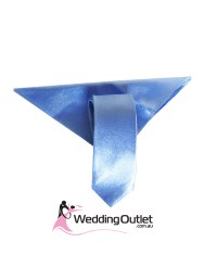 Mens Colour Matched Long Ties and handkerchiefs ...